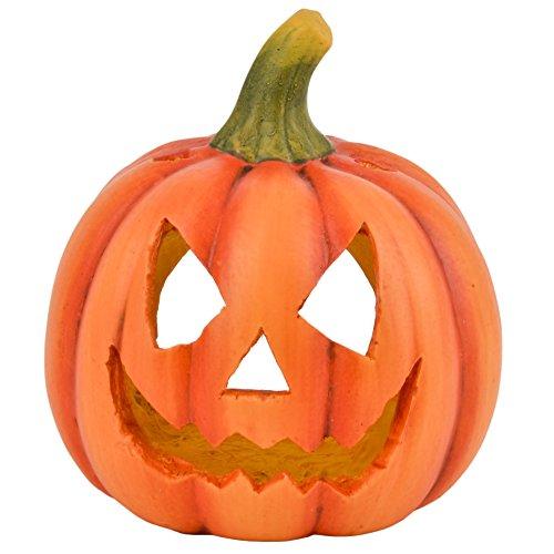 (Dadeldo Living & Lifestyle Kürbis Deko Objekt Herbst Halloween Clayfibre 23x20x20cm Orange)