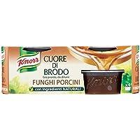 Knorr Cuore di Brodo Funghi Porcini X4, 6 Confezioni