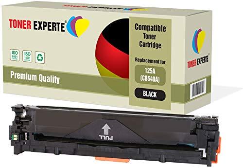 TONER EXPERTE® Schwarz Premium Toner kompatibel zu HP 125A CB540A für HP Color Laserjet CM1312 CM1312nf CM1312nfi CP1215 CP1217 CP1514n CP1515n CP1518ni (Hp Cp1215 Drucker)