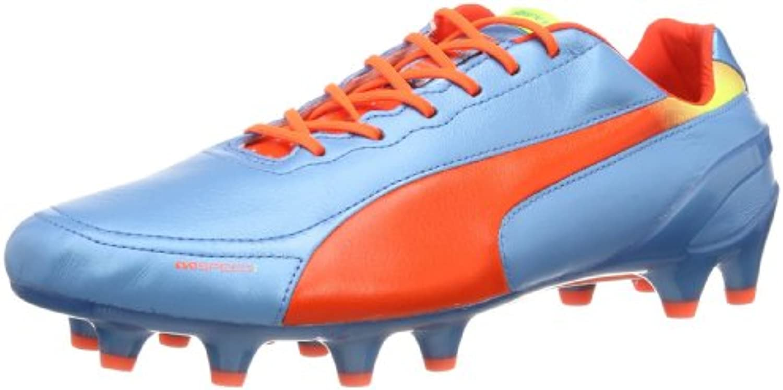 Puma evoSPEED 1.2 L FG - Zapatos de fútbol de cuero hombre