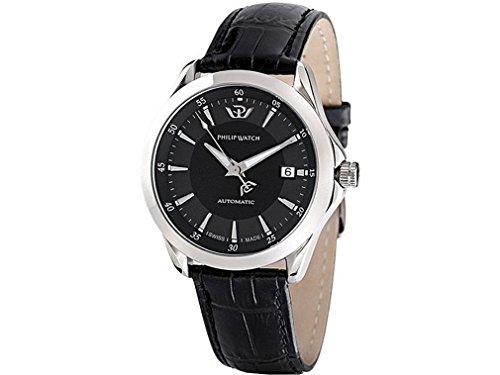 Philip Watch r8221165125–Watch Men–Automatic–Analogue–Bracelet leather Alligator Brown