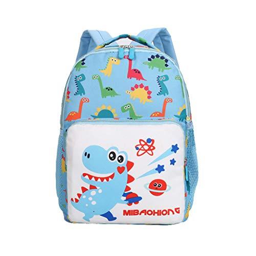 CommittedeKinderrucksack Dinosaurier Cartoon Rucksack Kleinkind Kinder Schultasche für Jungen und Mädchen im Kindergarten Rucksack Kinder Schultasche -