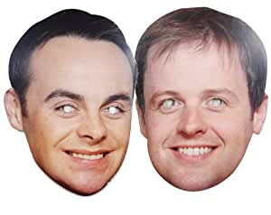 Ant & Dec - TWIN PACK - Celebrity Face Masks