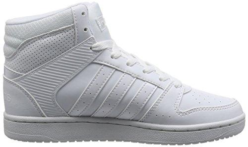 adidas VS Hoopster Mid Weiß
