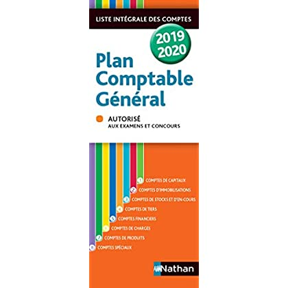 Plan comptable général - 2019/2020