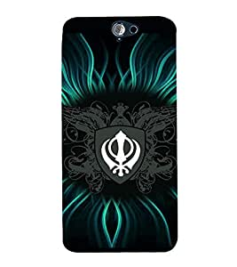 printtech Sikh Khalsa Waheguru Back Case Cover for HTC One A9