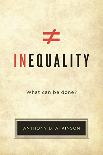 Inequality: What Can Be Done? (English Edition) eBook ...