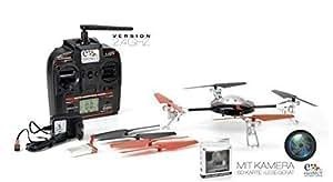 Quadcopter mit Gyro, 2,4GHz inkl. Kamera