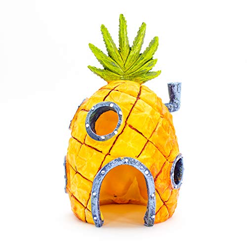 Spongebob, pineapple house fish tank ornamento (altezza 16,5 cm)