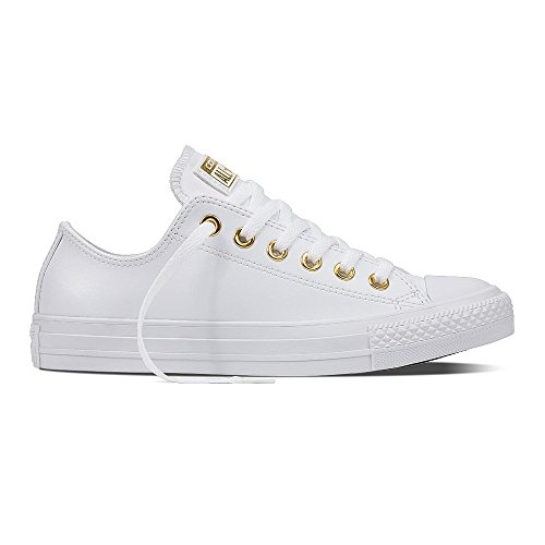 Converse-Womens-Chuck-Taylor-All-Star-Low-Top-White-Synthetic-Trainers-375-EU