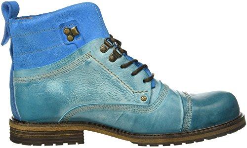 Yellow Cab - Soldier M, Stivali bassi con imbottitura leggera Uomo Blu (Blu chiaro)