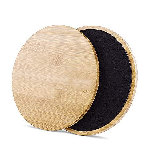 Byx- Bambus Und Holz Fitness Rutschfeste Gym Home Yoga Bauch Bauch Weste Linie Training Fitnessgeräte für Männer und Frauen -bauchroller