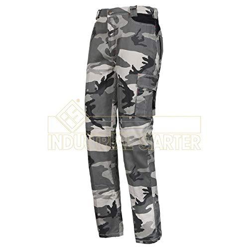 Pantalone multitasca in cotone tessuto mimetico TAGLIA 'XL' - new zip in box - URBAN WORK
