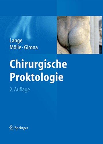 Chirurgische Proktologie por Jochen Lange epub