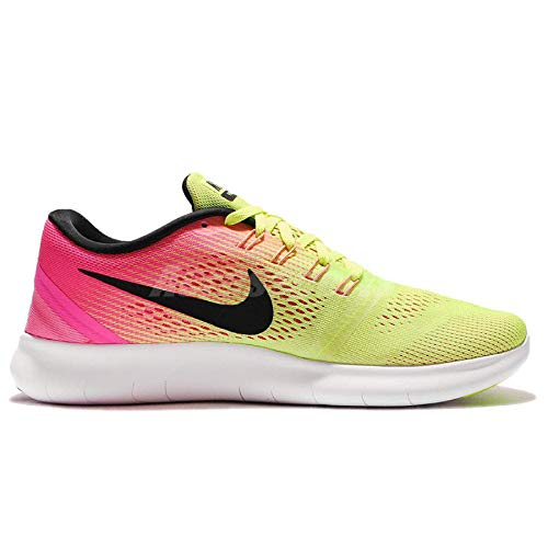 Nike Mädchen WMNS Free rn oc Laufschuhe, Schwarz (Mehrfarbig/Multi-Color), 36.5 EU