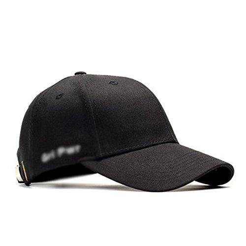 Casquettes HUO de Baseball Chapeau Black Hat Summer Hat Frais et Sec
