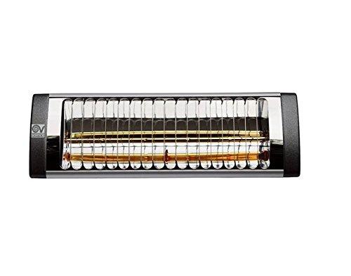 Vortice Thermologica Soleil Plus 70065 Lampada Riscaldante a Raggi Infrarossi da Installazione per Esterno e Interno