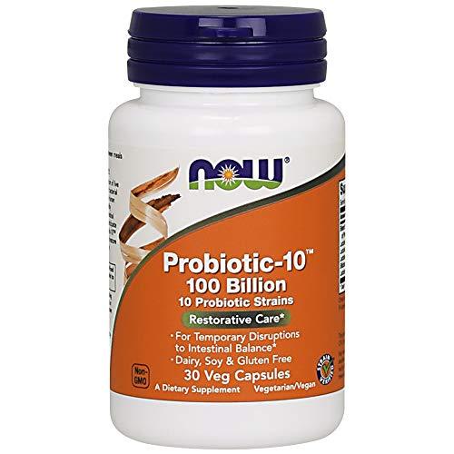 Now Foods Prob.-10 100 Milliarden Organismen 30 vegane Kapseln glutenfrei