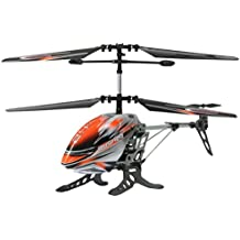 Jamara Rusher Remote controlled helicopter - juguetes de control remoto (Polímero de litio, 180 mAh, 175 mm, 186 mm, 110 mm, 44 g)