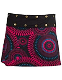Coline - Mini-jupe réversible - Taille Unique