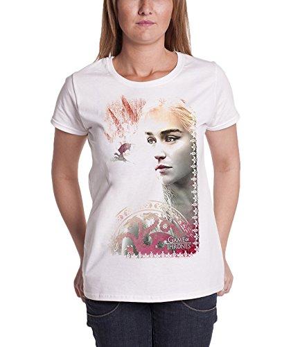 Oficial Game Of Thrones T Shirt De las mujeres Khaleesi mother of dragons Skinny