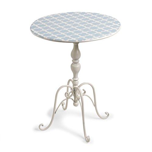 Tavoli Da Giardino Decorati.Montemaggi Tavolo Circolare In Ferro Decorato E Colorato Con Disegni