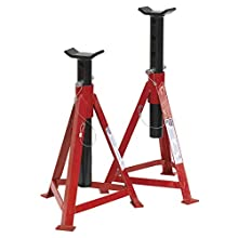 Sealey AS3000 Axle Stands (Pair) 2.5tonne Capacity per Stand Medium Height
