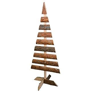 RM S de Commerce Árbol de Navidad árbol de Madera Árbol Decorativo Madera Natural 1,5m