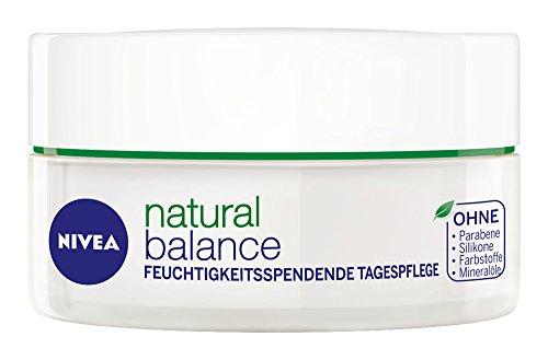 Nivea Visage, Crema giorno idratante e rinfrescante Pure and Natural, 1 x 50 ml