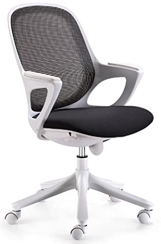 Amstyle Maglo Office Swivel Chair with WinTEX Fabric Cover up