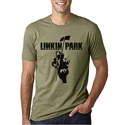 Linkin Park War Soldier - Camiseta Manga Corta (M)