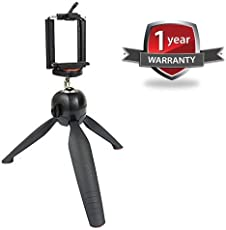 Advotis World 228 Mini 7 Inch Mobile Tripod With 360° Rotating Ball Head Compatible With IOS And Android Smartphones