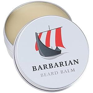 Barbarian Beard Balm 60g für die perfekte Bartpflege Unser Bartbalsam vereint Styling + Pflege für einen geschmeidigen weichen Bart mit Arganöl