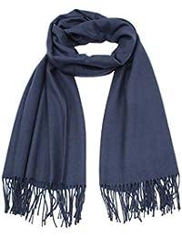637312f8ae74 cashmere Écharpe Femme hiver Châle Uni douce chaude Automne-Hiver couleur  aux choix taille