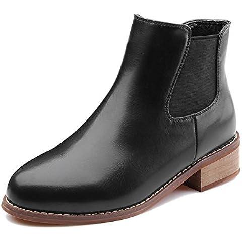 LYF KIU Autunno e l'inverno gli stivali di spessore con la comodità rotonda/ manica Splice con gli stivali