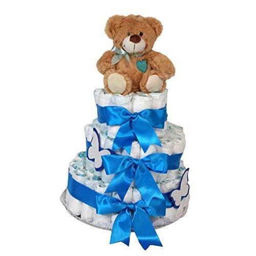 tarta-de-panales-dodot-oso-corazon-3-pisos-azul-mil-cestas