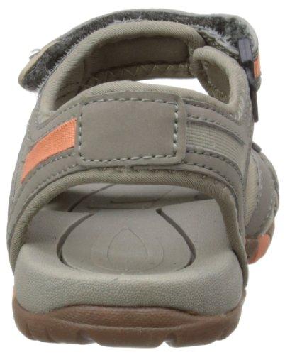 Hi-Tec Gt Strap, Sandales Fille Gris (Grey/Worn Grey/Peachy)