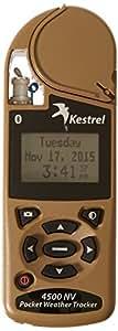 Kestrel 4500 NV Wetter und Umwelt-Windmesser mit Bluetooth, Desert Tan