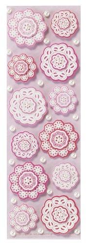 Layered Doily (Martha Stewart Crafts Stickers, Layered Doily Flower by Martha Stewart Crafts)