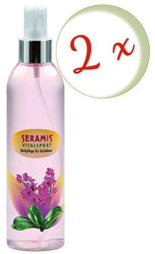 Oleanderhof® Sparset: 2 x SERAMIS® Vitalspray Blattpflege für Orchideen, 250 ml + gratis Oleanderhof Flyer
