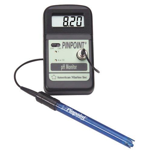 American Marine Pinpoint PH Monitor + Kalibrierung Flüssigkeiten