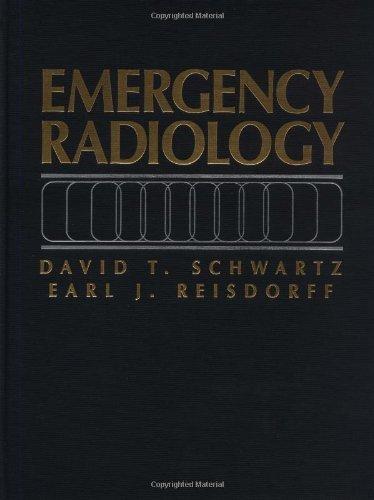 Emergency Radiology by David T. Schwartz (1999-09-30)