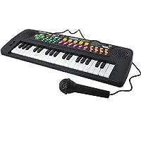 ISO TRADE Piano electrónico para niños - Teclado electrónico para Aprender ...