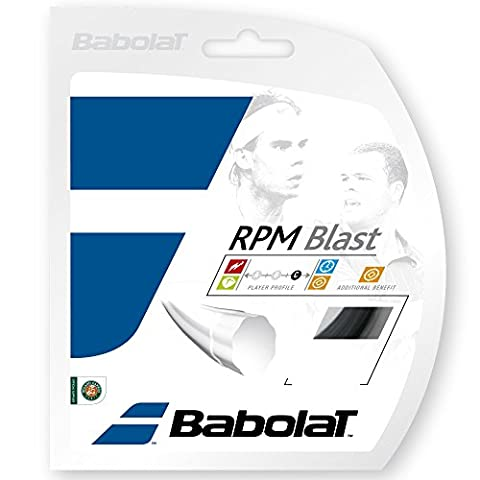 Babolat RPM Blast - Tennis String - Black - 12m