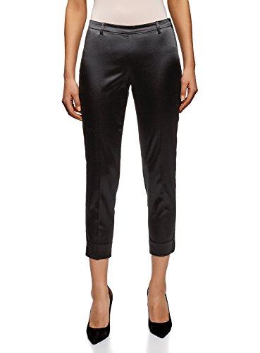 Oodji Collection Mujer Pantalones Ajustados Cremallera