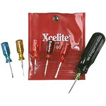 Xcelite M60 Mini-Driver Kit, With Vinyl Pouch,6-Piece