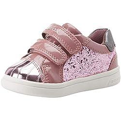 Geox B Djrock Girl E, Zapatillas para Bebés