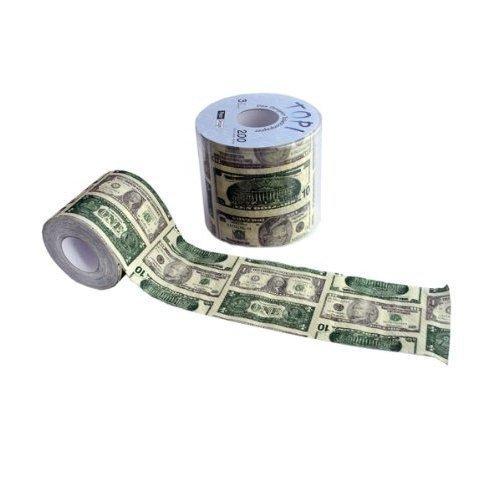 Paper+Design Toilettenpapier DOLLAR / 200Blatt - 3lagig