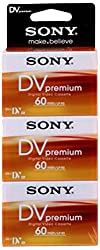 Sony Dv Cassette (60min, 3-er Pack)