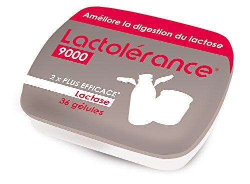 LACTOLÉRANCE 9000 PILULIER DE 36 GÉLULES - améliore la digestion du lactose